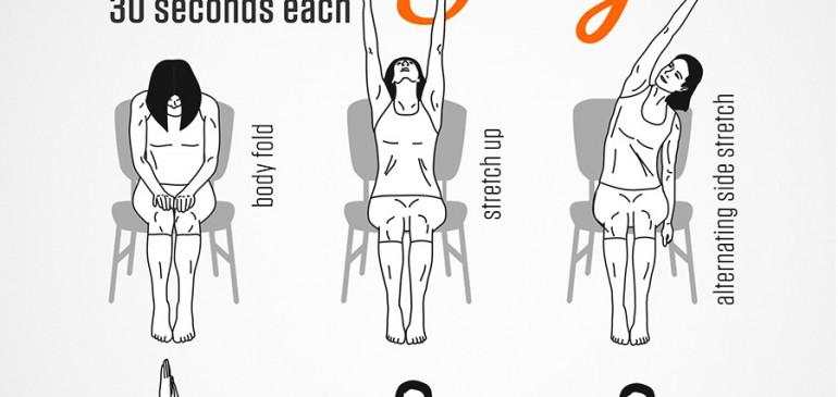 3 Minute Seated Yoga